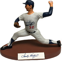 Sandy Koufax signed Brooklyn Dodgers 1989 Salvino Sport Legends Figurine... - $324.95