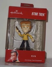 Hallmark 2018 STAR TREK Captain James Kirk Christmas Ornament NIB AA88 - $12.58