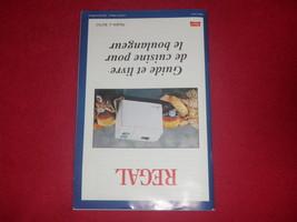 Regal Bread Maker Machine Manuel and Recipes for Model K6761  image 2