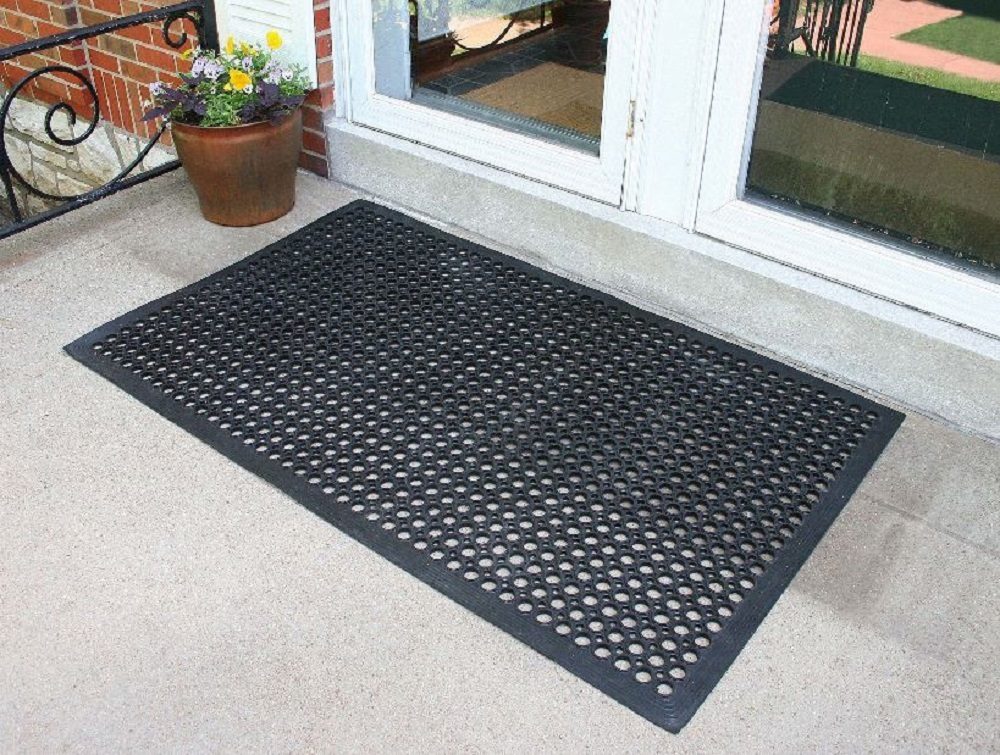 Anti Fatigue Kitchen Floor Mat Non Skid No Slip Rubber Pad Concrete Cushion NEW