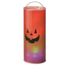 "Midwest 12"" B/O Transparent Happy Jack O Lantern LED Hanging Halloween L... - $26.72"