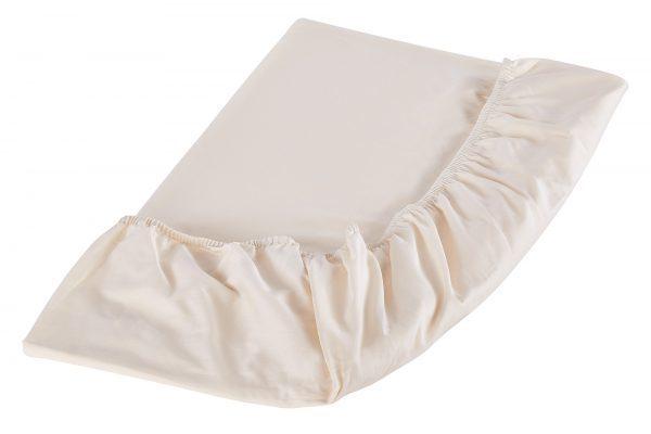 Organic cotton sheet set sheet detail 600x400