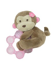 Carter's Monkey Plush with Teether - $7.87