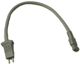 """Filter Queen, Generic Pigtail Cord Male/Female 14"""" Gray - $5.36"""