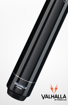 BLACK STAIN VA111 MAPLE SHAFT Billiard Pool Cue Stick LINEN WRAP VALHALL... - $80.99