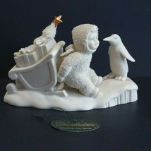 Dept 56 Snowbabies Stuck In The Snow 6806 Early Release 1998 Gold Star VTG - $39.11