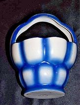 Czechoslovakia Ceramic Basket AA18-1368-G Vintage image 4