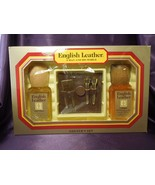 English Leather Cologne and After Shave Golfer's Set w/ Original Package - $26.73