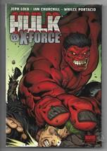 Sealed 2010 Hulk vs X-Force Hardback TPB From Marvel comics Jeph Loeb  - $9.90