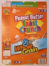 Empty GENERAL MILLS Cereal Box 2005 PEANUT BUTER TOAST CRUNCH 15.3 oz - $24.96