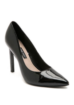NEW NINE WEST BLACK PATENT LEATHER POINTY STILETTO PUMPS SIZE 8 M SIZE 8... - $28.49+