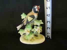 "Lefton Baltimore Oriole Bird 5.25"" Porcelain Figurine KW465 Japan Label - $9.49"