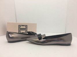 Ivanka Trump Lelle Pewter Multi Leather Women's Pointed Toe Flats Loafer... - $57.02
