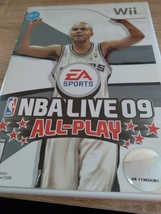 Nintendo Wii NBA Live 09: All-Play ~ COMPLETE image 1