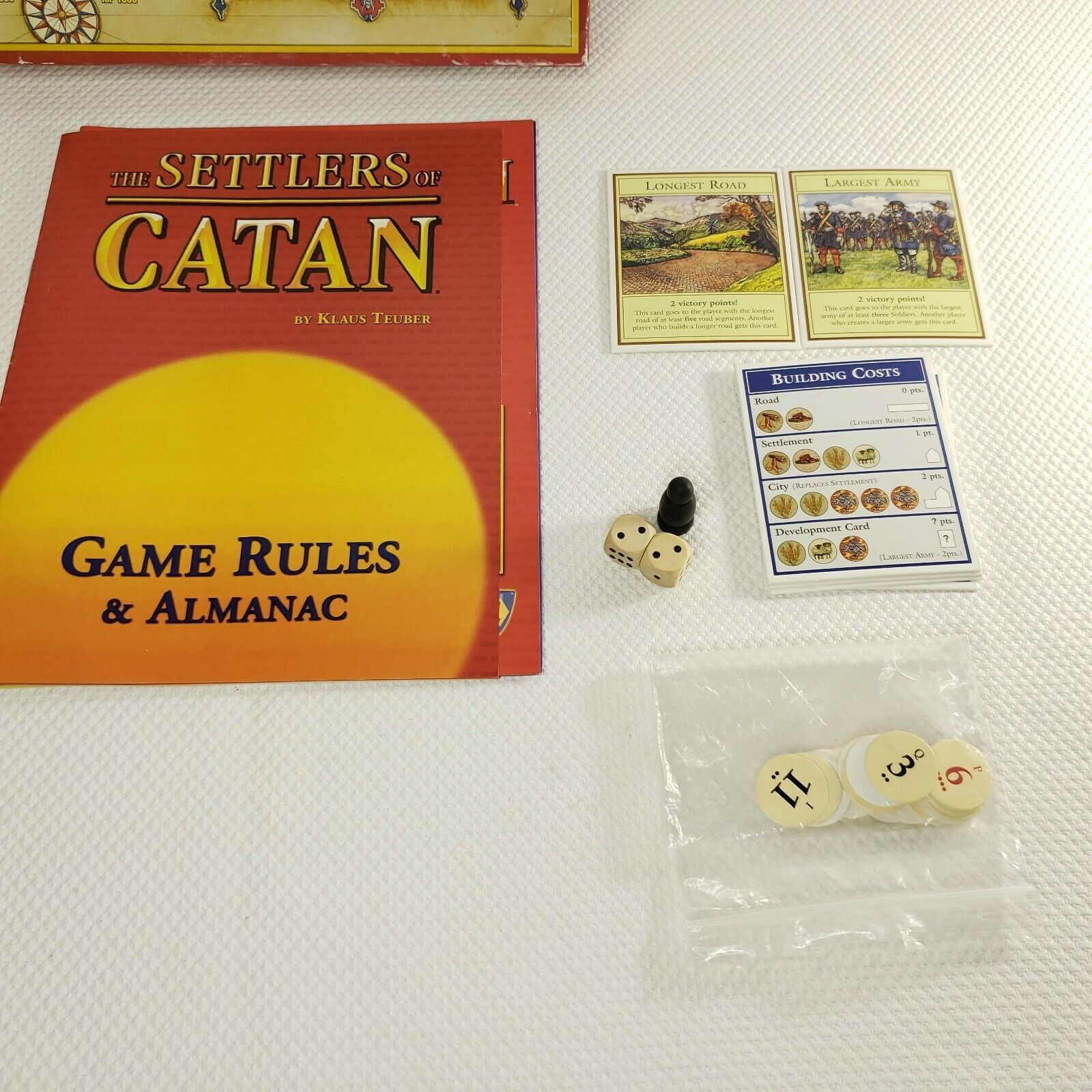 The Settlers of Catan 1996/1997 by Klaus Teuber 100% Complete #483 Mayfair Games