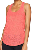 Small 4-6 Lole Women's Lara Tank Top Racerback Relaxed Fit Shirt Georgia Peach