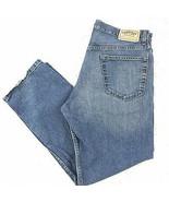 Levis Signature Jeans 36x29 Regular Fit Blue Distressed Denim  - $27.99