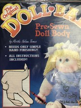 Vintage Doll Baby Making Kits Set Of Two Doll Body Make Handmade - $27.22