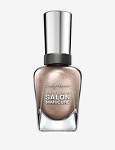 DAZZLING NAIL POLISH Sally Hansen Complete Salon Manicure # 130 GILTY PA... - $12.99