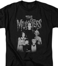 The Munster's family group photo t-shirt retro TV series graphic tee NBC768 image 3