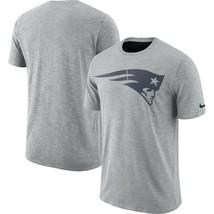 New England Patriots Mens Nike Sideline Dri-Fit Cotton Slub T-Shirt - XL... - $24.99