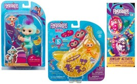 WooWee Fingerlings 3 Set - BFF 'Danny & Gianna, Minis Series 'Meg' & Jew... - $20.56