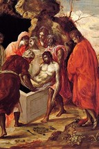 The burial of Christ by El Greco - Art Print - $19.99+