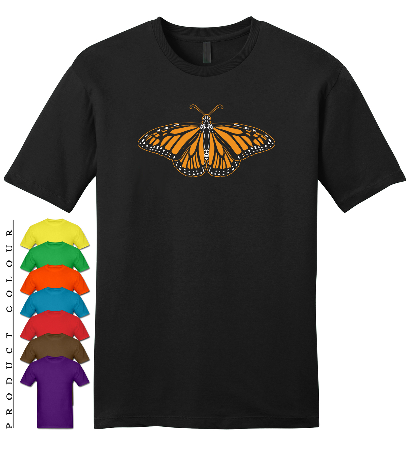 Primary image for Monarch Butterfly Mens Gildan Funny T-Shirt New