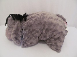 "Disney Parks Eeyore Pillow Plush - 20""  Grey w-Pink Ears and Bow - Black... - $23.38"
