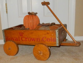 SALE~ANTIQUE ROYAL CROWN COLA CRATE MADE INTO R... - $115.20