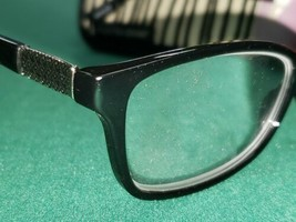 FOSTER GRANT BLACK SILVER READING GLASSES W/CASE +1.50 JULES SPG HNG - $13.51