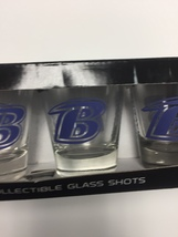 Baltimore Ravens Shot Glass Set of 4 - New in Box - $9.49