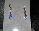 Swarovski northern lights teardrop earrings - $48.48 CAD