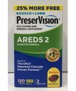 (New) Bausch+Lomb PreserVision AREDS 2 Formula, 150 softgels, EXP 03/2022 - $35.63