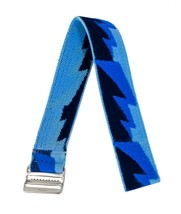 Timex Ragazzi & Adulti Elastico Cinturino Orologio 18mm Blu Bullone Desi... - $7.42