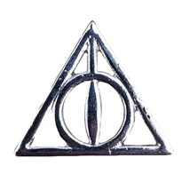 Harry Potter Lapel Pin: Deathly Hallows - $12.90
