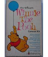 Winnie the Pooh Cartoon Colorforms Kit 1968 Fine Condition - $97.99