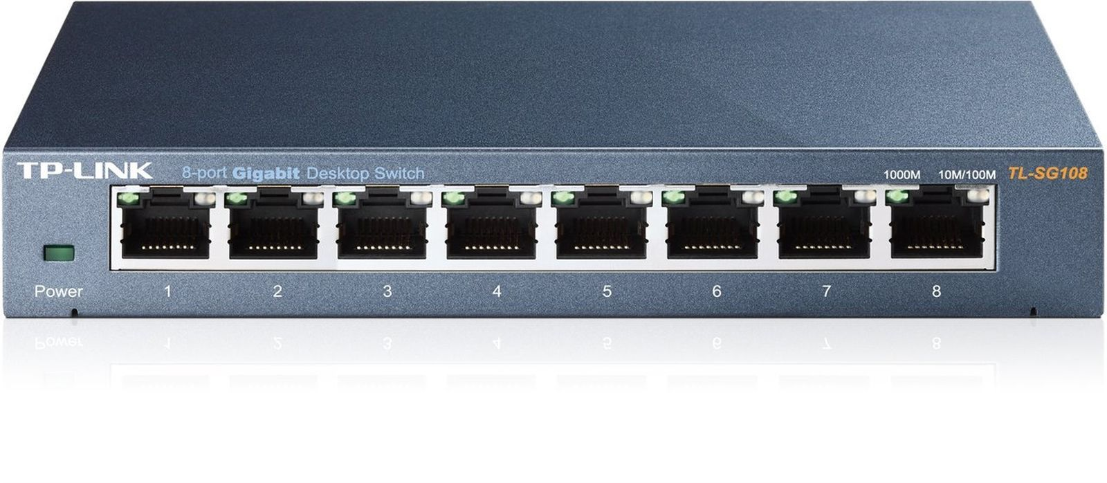 TP-Link 8 Port Gigabit Ethernet Network Switch | Ethernet Splitter | Sturdy M...