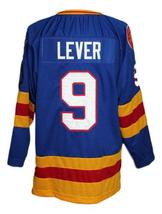 Custom Name # Colorado Retro Hockey Jersey Sewn New Blue Lever #9 Any Size image 2