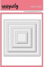 Cross Stitch  Nesting Squares Die Set. Spellbinders image 1