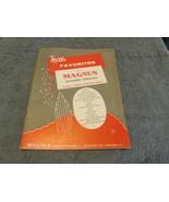 Mills Favorites For The Magnus Chord Organ 1958 Sheet Music - $6.99