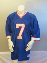 Buffola Bills Jersey (VTG) - Doug Flutie # 7 by Russell Athletic - Size 52  - $75.00