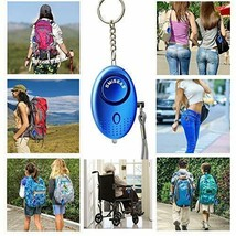 Personal Alarm Keychain 140db Emergency LED SOS Survival Whistle ( 3 pack ) - $14.99