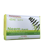 PATANJALI NEEM KANTI BODY CLEANSER SOAP BAR- 75gm - $9.99+