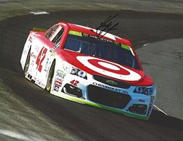 Autographed 2017 Kyle Larson #42 Target Team Chase For The Cup Playoffs (On-Trac - $98.96