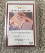 Used American Traditional Stencils Embossing Light Table LB-2~ Excellent... - $12.82