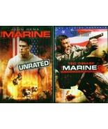 Marine, The 1, 2 & 3: John Cena- Ted Diabiase- Mike Mizanin- New 3 DVD - $24.77