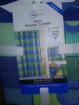 Mainstay shower curtain set - $9.90
