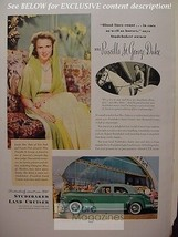 Rare Esquire Advertisement Ad 1941 Studebaker Land Cruiser Wwii Era - $8.00