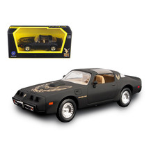 1979 Pontiac Firebird Trans Am Matt Black 1/43 Diecast Model Car by Road... - $17.27